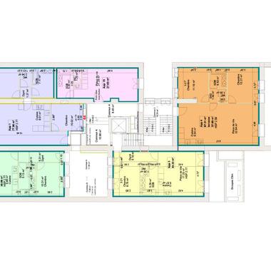 Plan de division des espaces