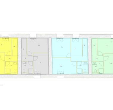 Plan de division de l'étage