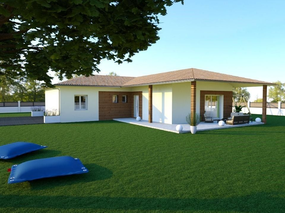 Maison moderne plain-pied de 125 m²