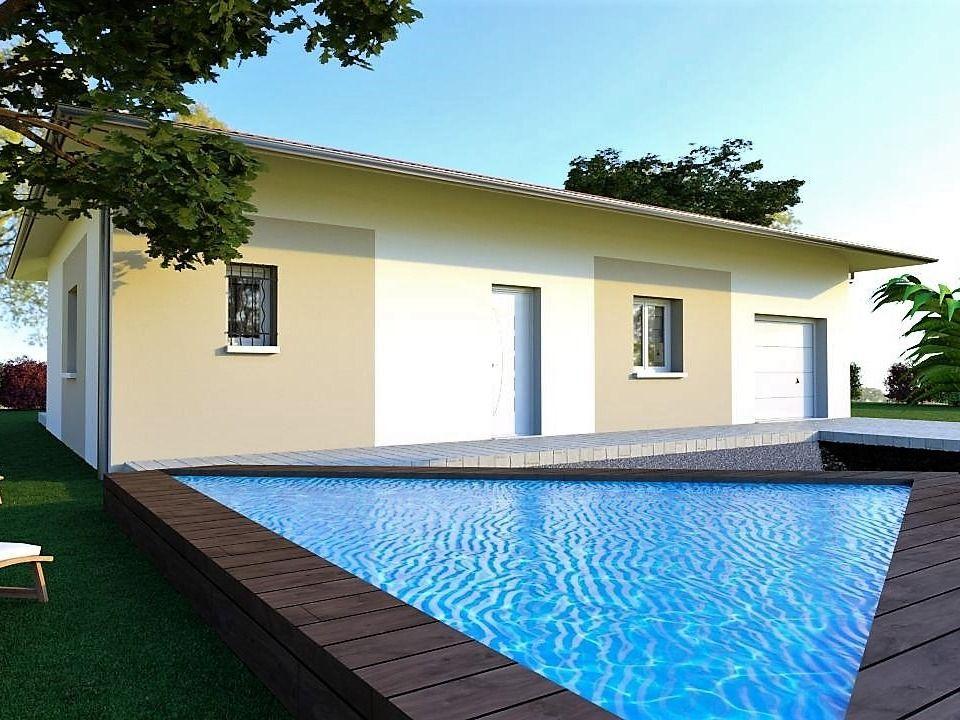 Maison moderne de 80 m²