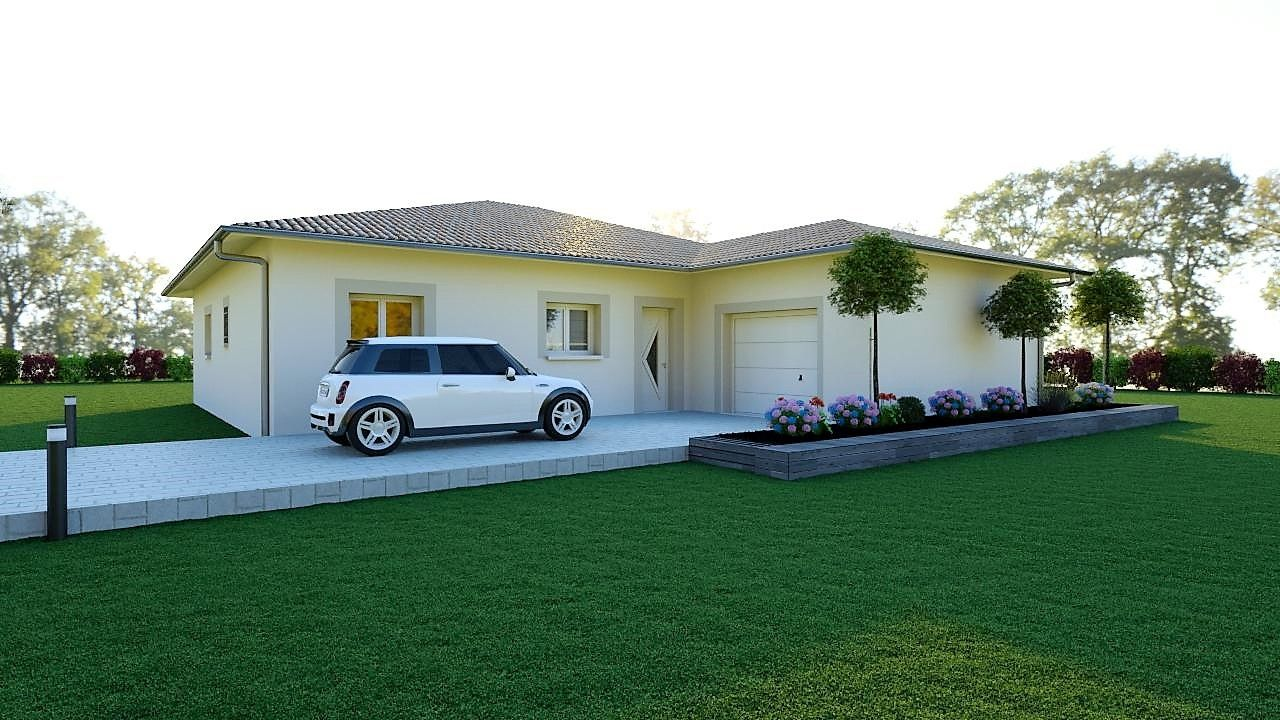 Maison moderne 140 m²
